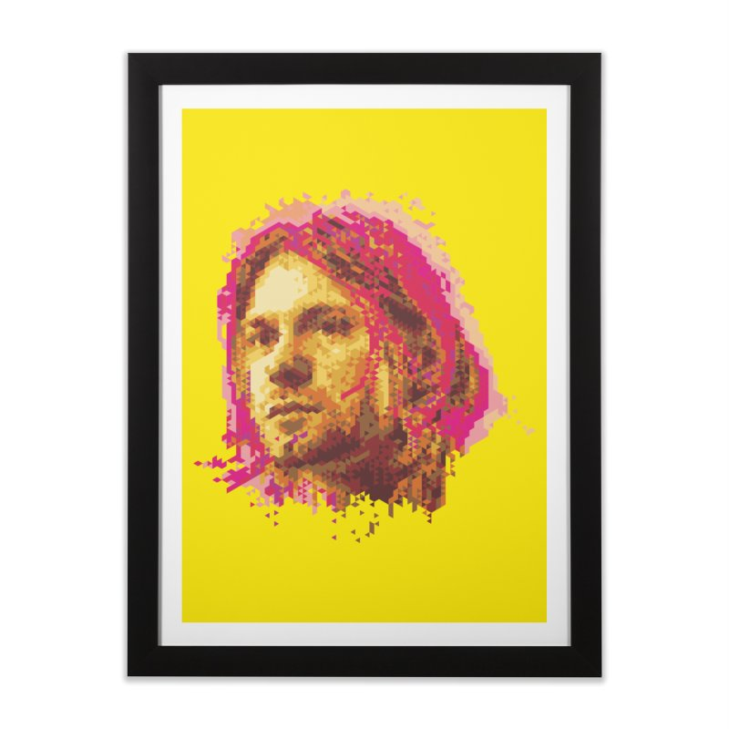 teen spirit Home Framed Fine Art Print by okik's Artist Shop