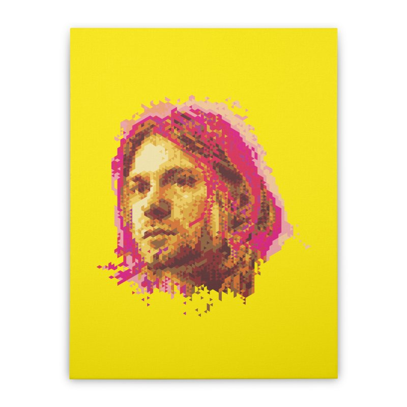 teen spirit Home Stretched Canvas by okik's Artist Shop