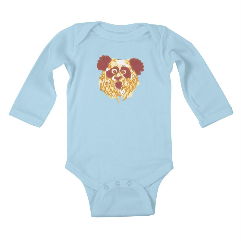 hello there Kids Baby Longsleeve Bodysuit by okik's Artist Shop