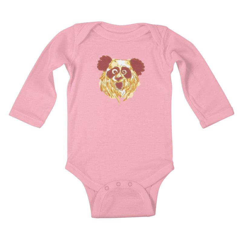 hello there Kids Baby Longsleeve Bodysuit by okik's Artist Shop