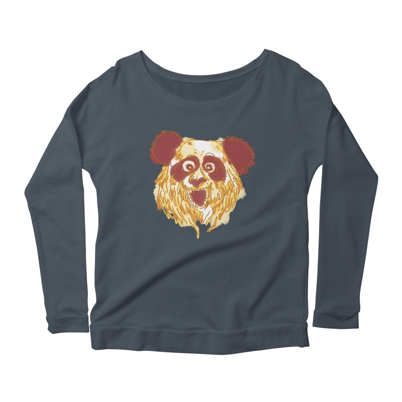 hello there Women's Longsleeve Scoopneck  by okik's Artist Shop