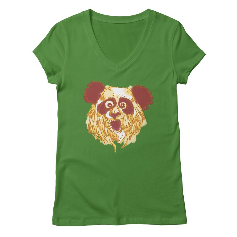 hello there Women's V-Neck by okik's Artist Shop