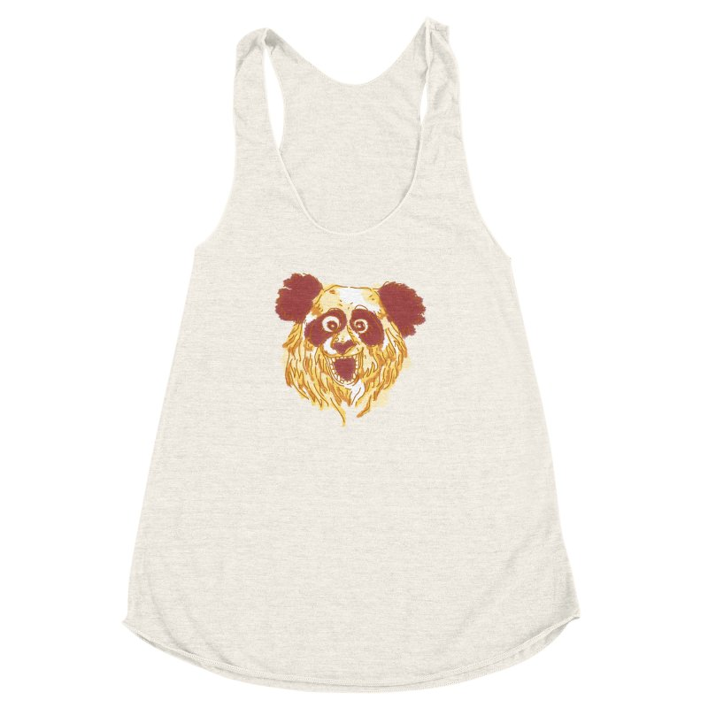 hello there Women's Racerback Triblend Tank by okik's Artist Shop