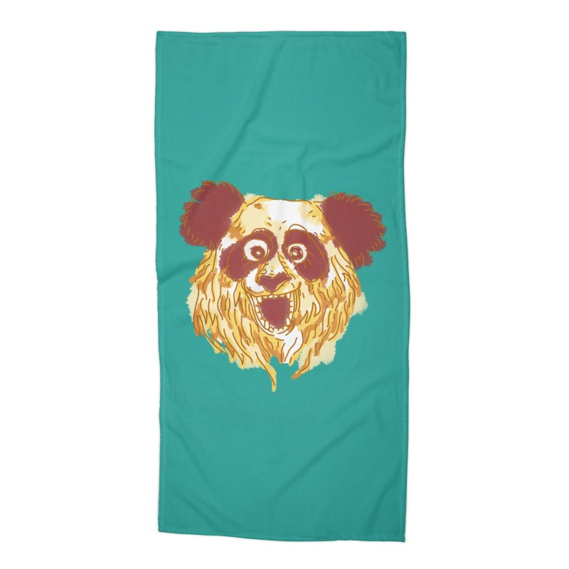 hello there Accessories Beach Towel by okik's Artist Shop