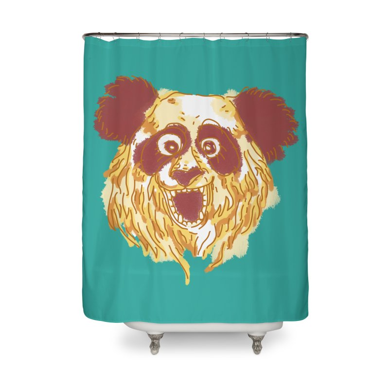 hello there Home Shower Curtain by okik's Artist Shop