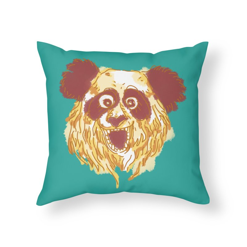 hello there Home Throw Pillow by okik's Artist Shop