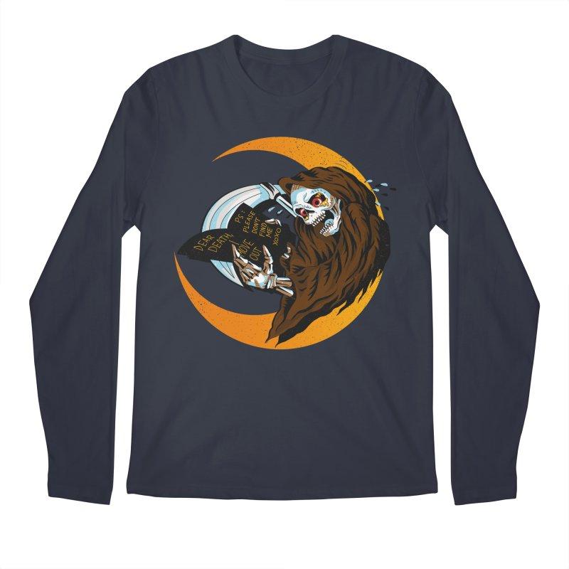 deathwish Men's Longsleeve T-Shirt by okik's Artist Shop