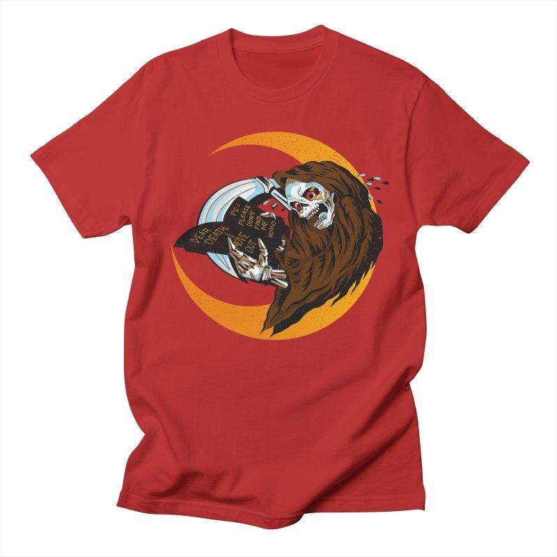 deathwish Men's T-shirt by okik's Artist Shop