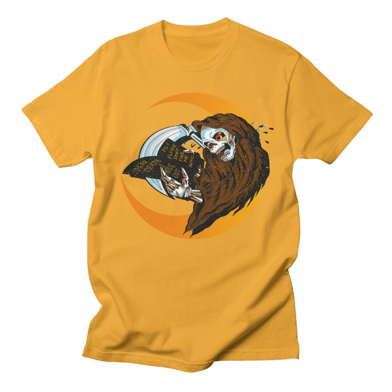 deathwish Men's Regular T-Shirt by okik's Artist Shop