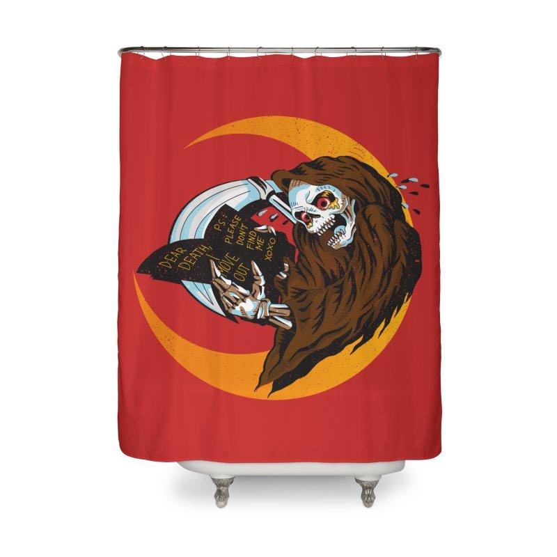 deathwish Home Shower Curtain by okik's Artist Shop