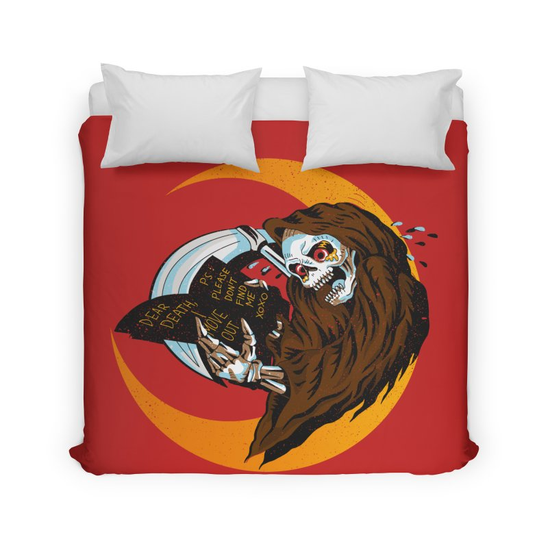deathwish Home Duvet by okik's Artist Shop