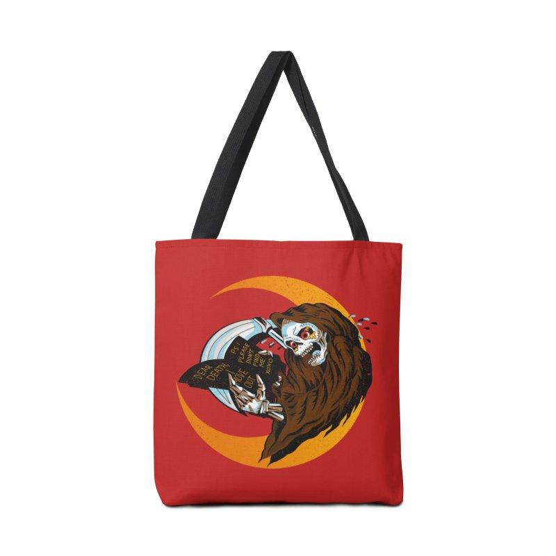 deathwish Accessories Bag by okik's Artist Shop