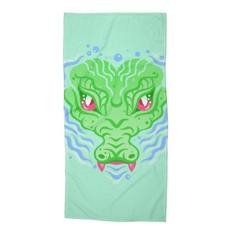 luv u 2 death Accessories Beach Towel by okik's Artist Shop