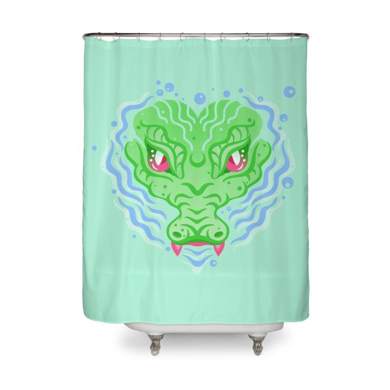 luv u 2 death Home Shower Curtain by okik's Artist Shop