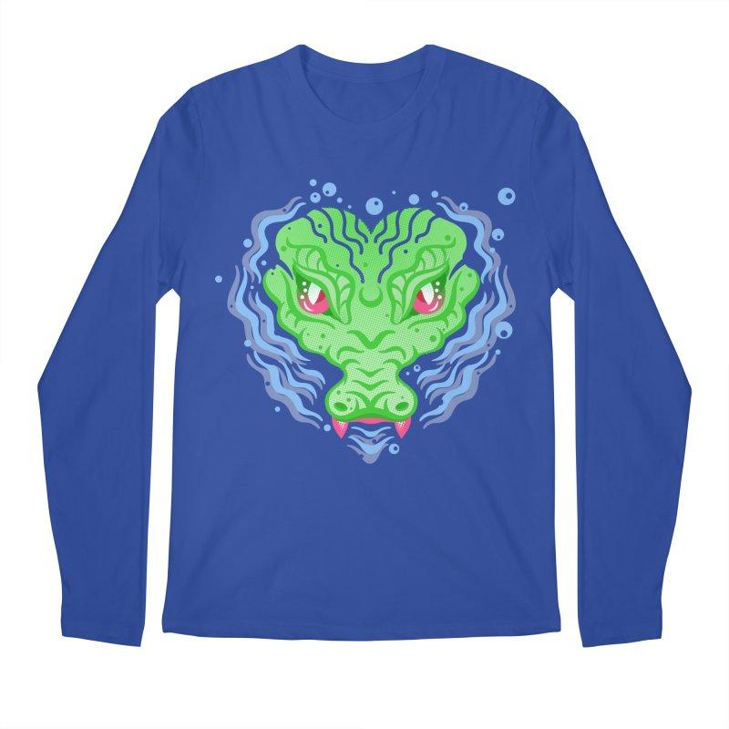 luv u 2 death Men's Longsleeve T-Shirt by okik's Artist Shop