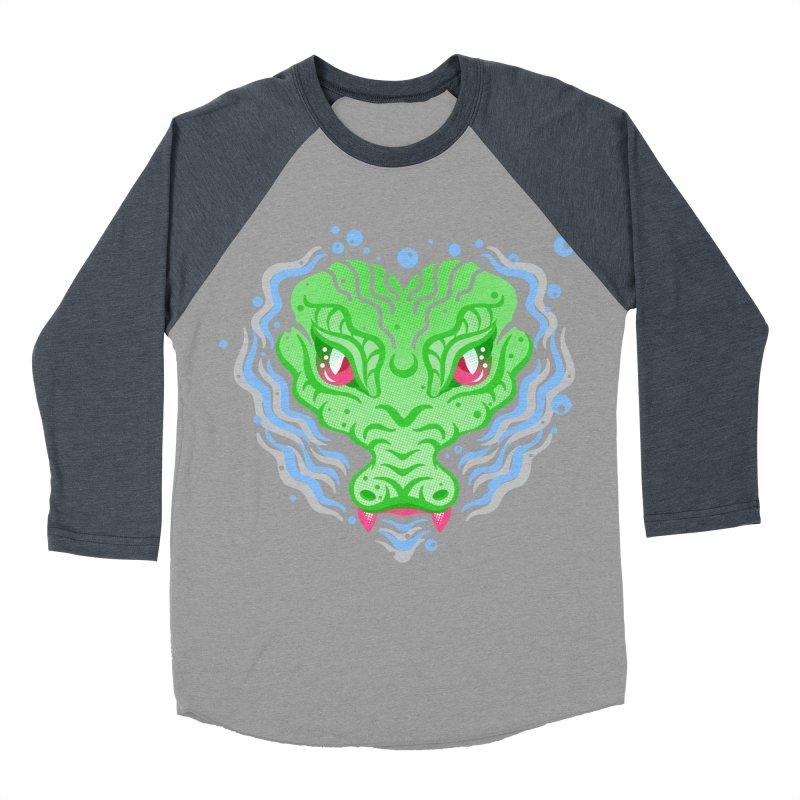luv u 2 death Women's Baseball Triblend T-Shirt by okik's Artist Shop