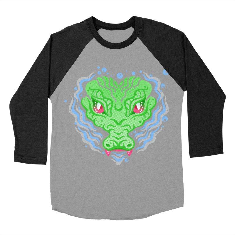 luv u 2 death Men's Baseball Triblend T-Shirt by okik's Artist Shop