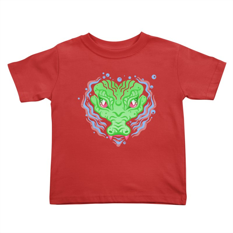 luv u 2 death Kids Toddler T-Shirt by okik's Artist Shop
