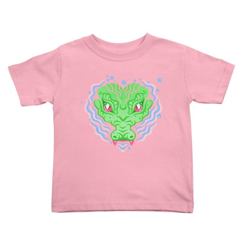 luv u 2 death Kids Toddler T-Shirt by okik's Artist Shop