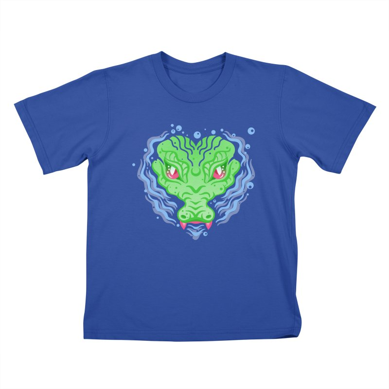 luv u 2 death Kids T-Shirt by okik's Artist Shop