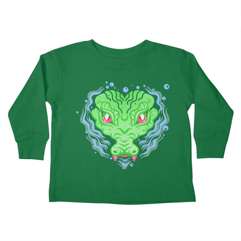 luv u 2 death Kids Toddler Longsleeve T-Shirt by okik's Artist Shop