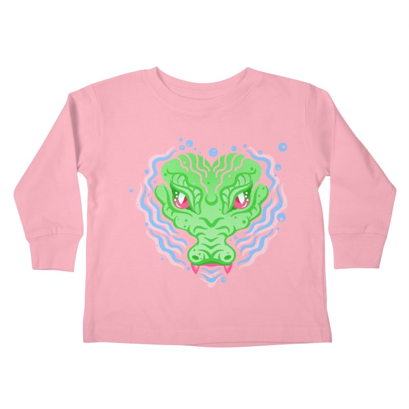 luv u 2 death Kids Toddler Longsleeve T-Shirt by okik's Artist Shop