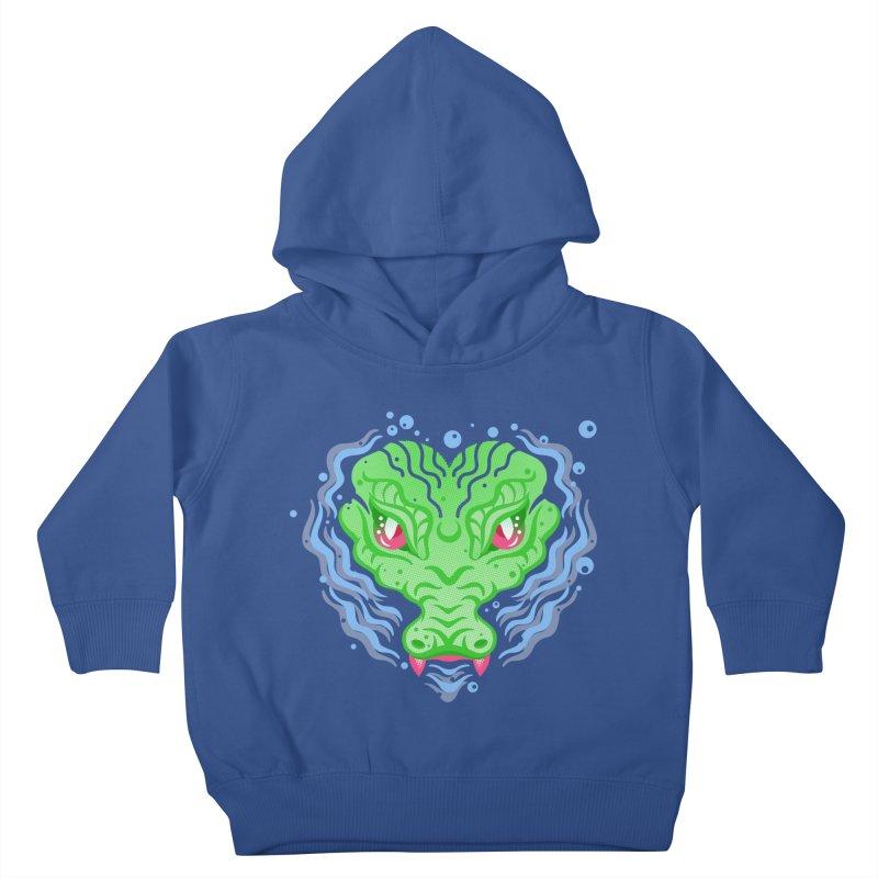 luv u 2 death Kids Toddler Pullover Hoody by okik's Artist Shop