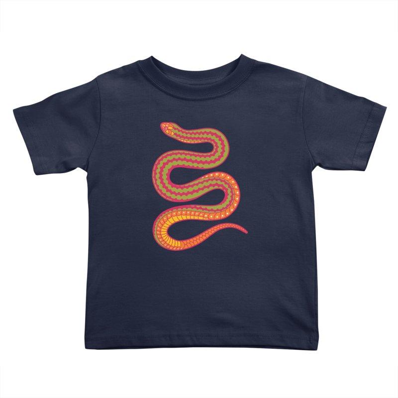 forbidden fruit Kids Toddler T-Shirt by okik's Artist Shop
