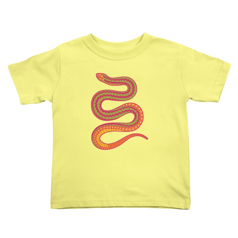 forbidden fruit Kids Toddler T-Shirt by okik's Artist Shop