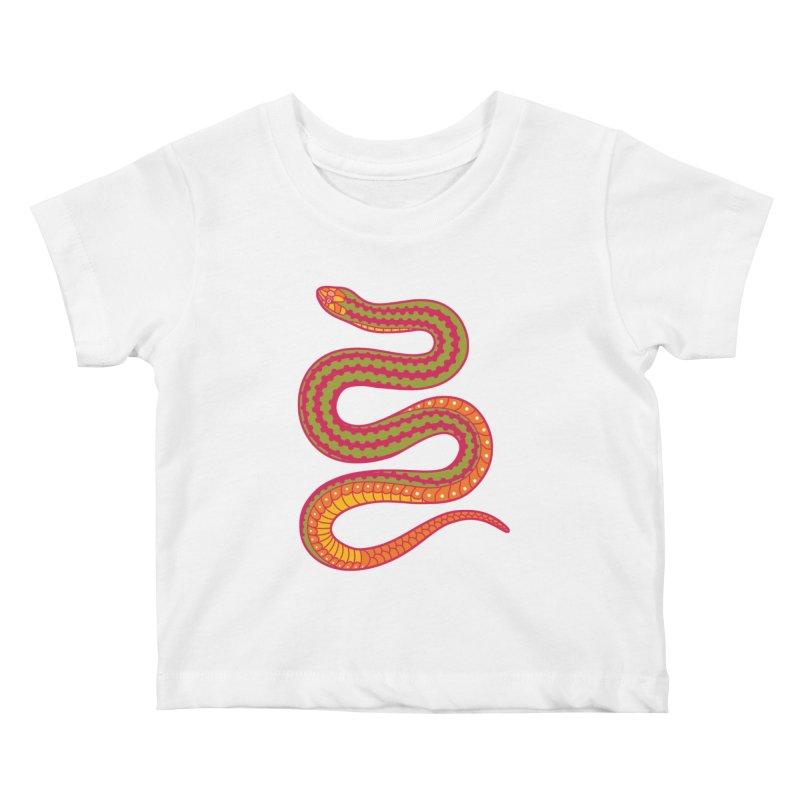 forbidden fruit Kids Baby T-Shirt by okik's Artist Shop