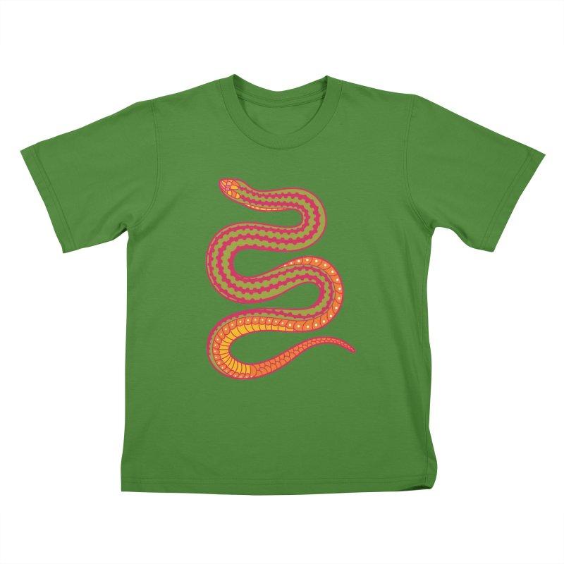 forbidden fruit Kids T-Shirt by okik's Artist Shop