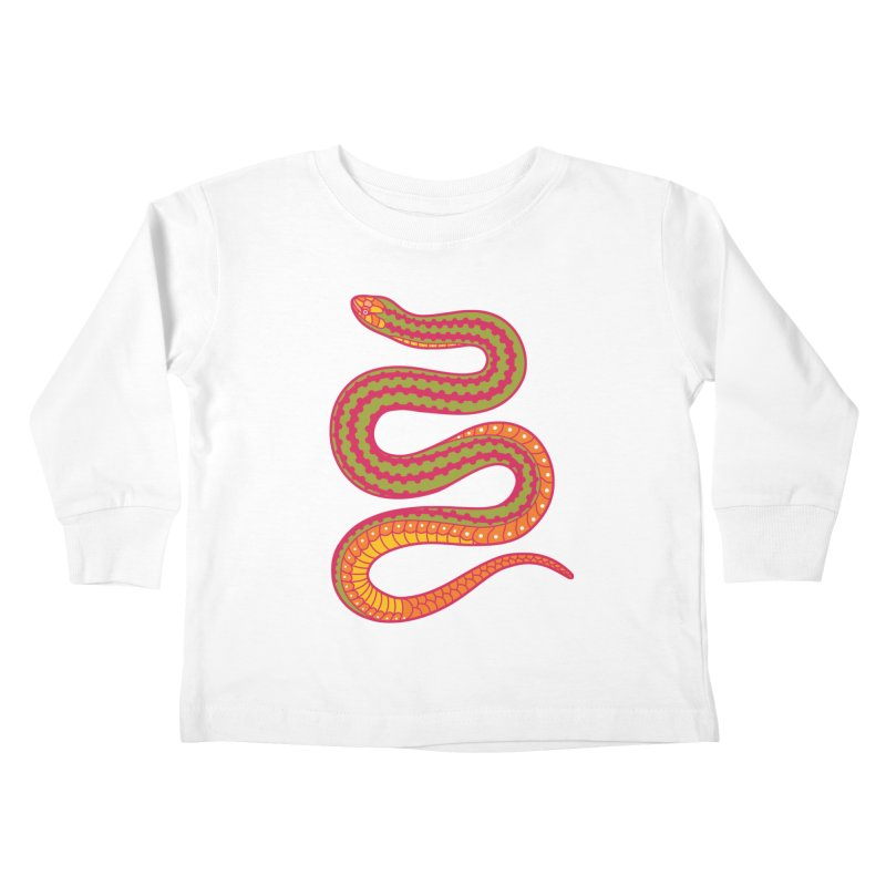 forbidden fruit Kids Toddler Longsleeve T-Shirt by okik's Artist Shop