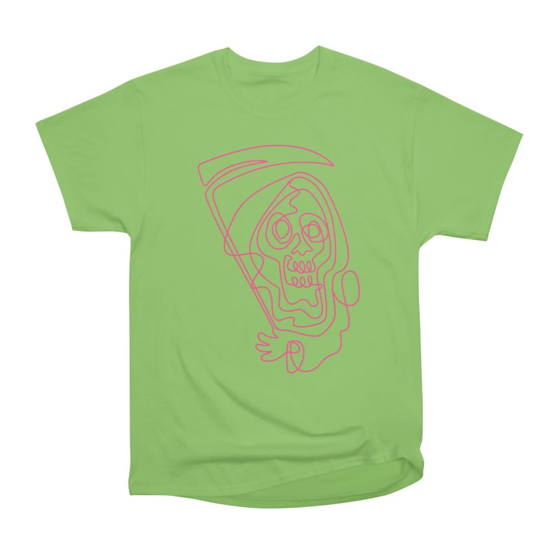 flatliner Women's Heavyweight Unisex T-Shirt by okik's Artist Shop