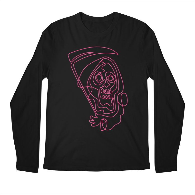 flatliner Men's Longsleeve T-Shirt by okik's Artist Shop