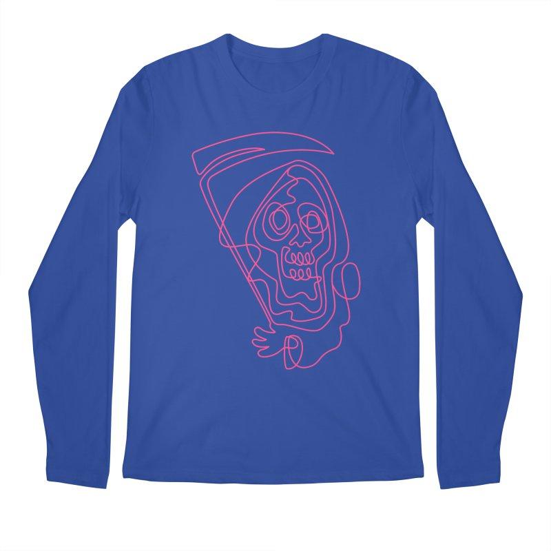 flatliner Men's Longsleeve T-Shirt by okik's Artist Shop