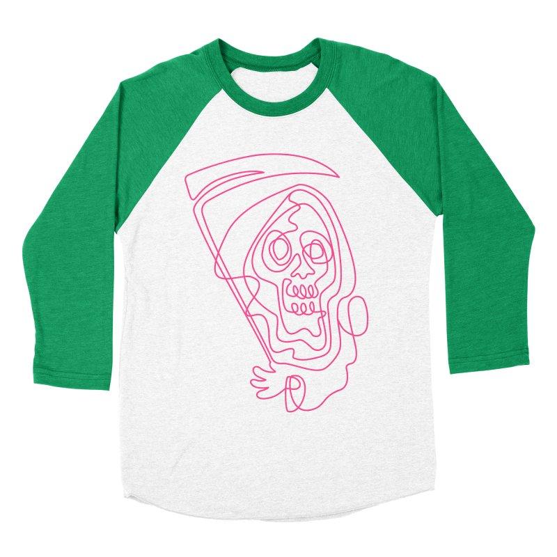flatliner Women's Baseball Triblend Longsleeve T-Shirt by okik's Artist Shop