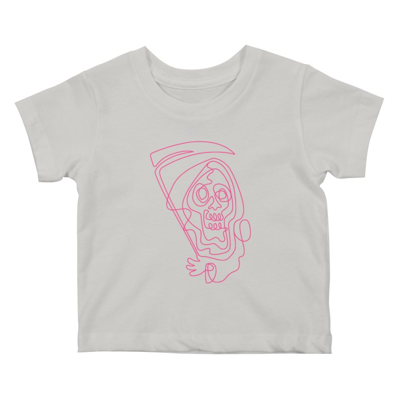 flatliner Kids Baby T-Shirt by okik's Artist Shop