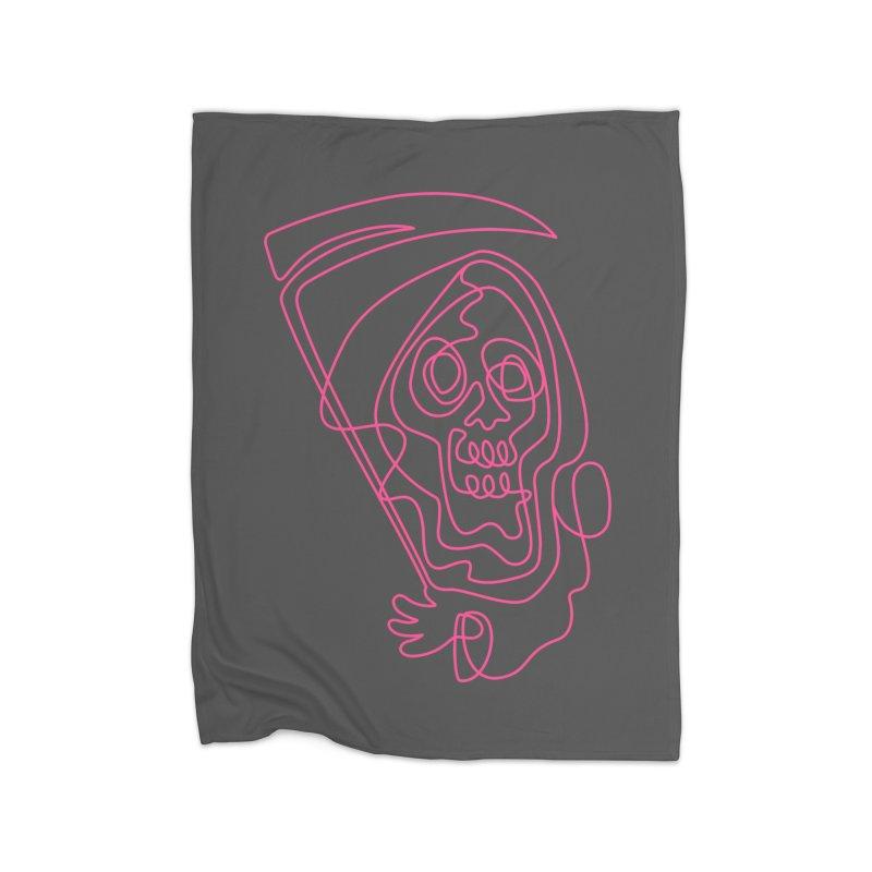 flatliner Home Blanket by okik's Artist Shop