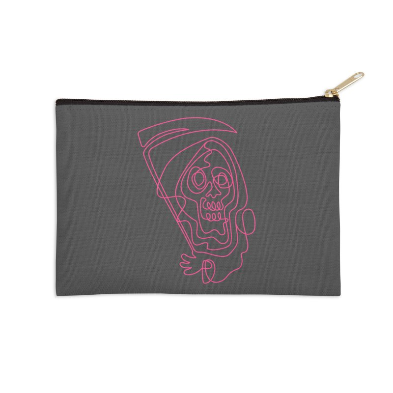 flatliner Accessories Zip Pouch by okik's Artist Shop