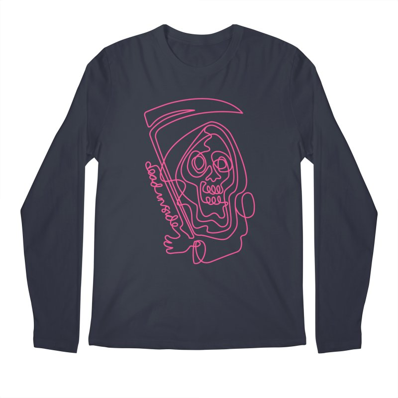 dead inside Men's Longsleeve T-Shirt by okik's Artist Shop