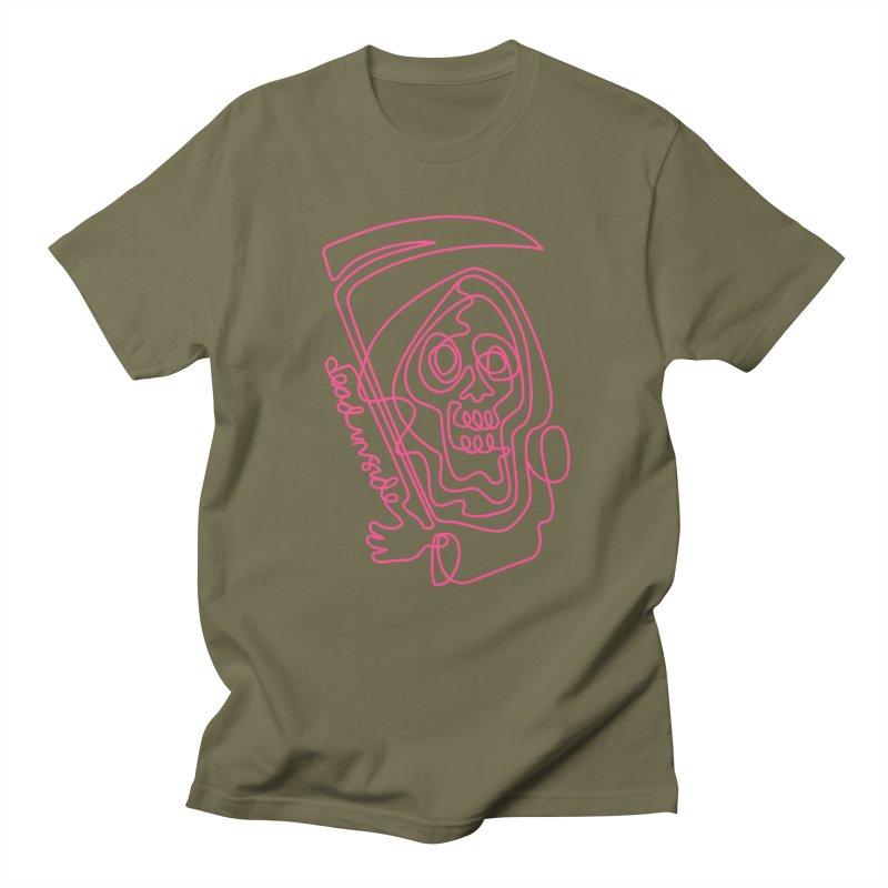dead inside Men's T-Shirt by okik's Artist Shop