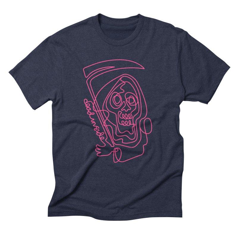 dead inside Men's Triblend T-Shirt by okik's Artist Shop