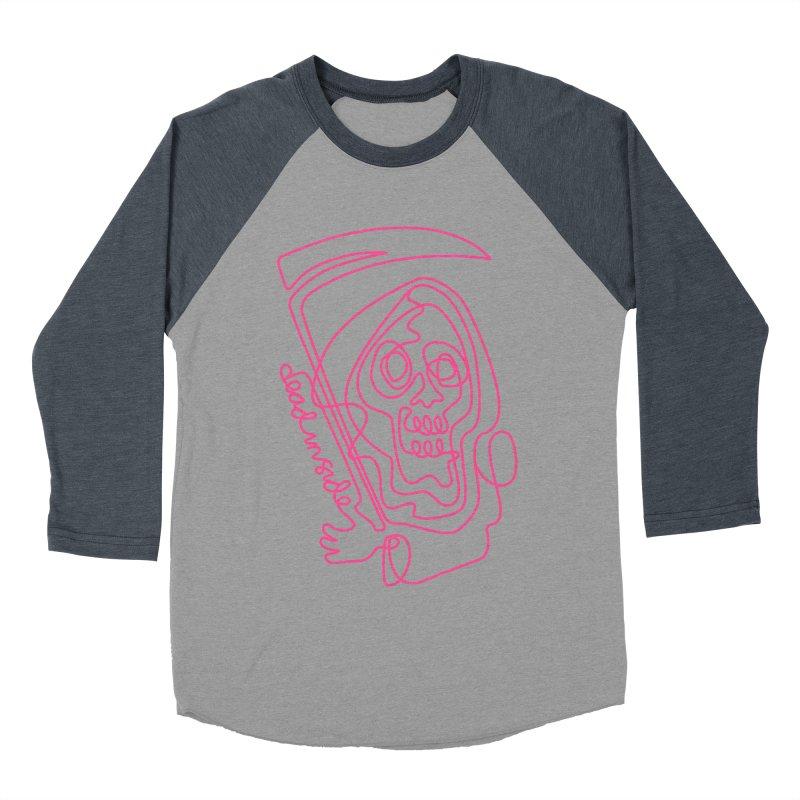 dead inside Women's Baseball Triblend Longsleeve T-Shirt by okik's Artist Shop