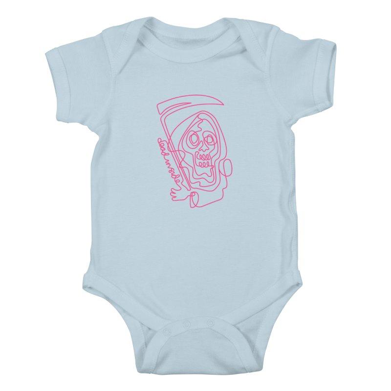 dead inside Kids Baby Bodysuit by okik's Artist Shop