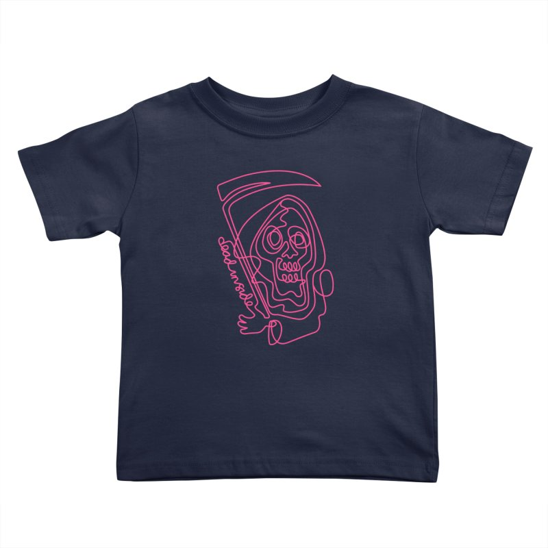 dead inside Kids Toddler T-Shirt by okik's Artist Shop