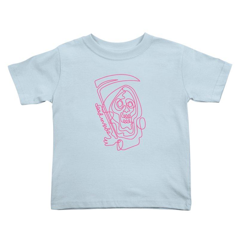 dead inside Kids Toddler T-Shirt by okik's Artist Shop