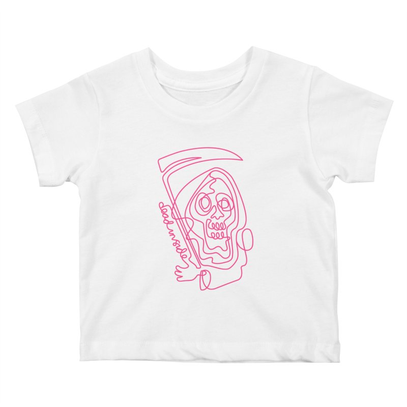 dead inside Kids Baby T-Shirt by okik's Artist Shop