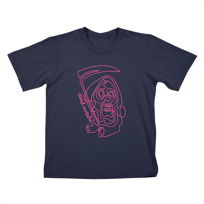 dead inside Kids T-Shirt by okik's Artist Shop