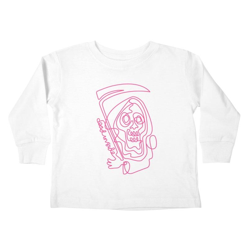 dead inside Kids Toddler Longsleeve T-Shirt by okik's Artist Shop