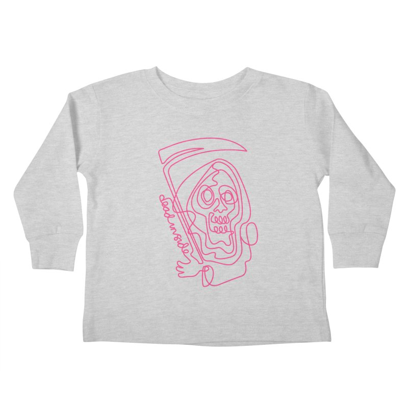dead inside Kids Toddler Longsleeve T-Shirt by okik's Artist Shop